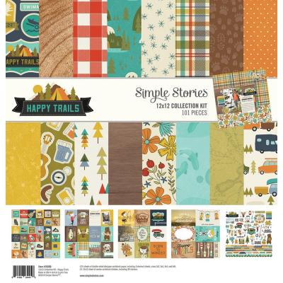 Simple Stories Collection Kit - Happy Trails